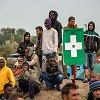 """Sustiprinta apsauga kelia Kalė uosto """"džiunglėse"""" įstrigusių migrantų įtūžį"""