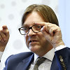 Lietuvos liberalai atsiriboja nuo EP frakcijos lyderio paramos V.Uspaskichui, V.Mazuronis dėkoja