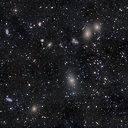 Mergelės galaktikų spiečius – tūkstančiai žvaigzdžių telkinių