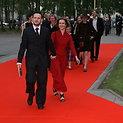 """Ant raudono """"Sidabrinių gervių"""" kilimo..."""