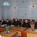 Alytiškių gaujos narius ginantys advokatai.
