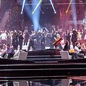 """Dešinėje – Lietuvos delegacija """"Eurovizijoje"""""""