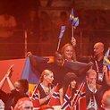 """Švedija triumfuoja """"Eurovizijos"""" finale"""