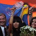 Švedijos atstovės Loreen (centre) triumfas