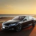 """""""Tesla Model S"""" elektromoblis"""