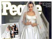 Jaunavedžiai <b>Angelina Jolie</b> ir <b>Bradas Pittas</b> parodė savo vestuvių nuotraukas