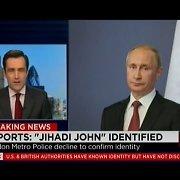 """Reportažą apie """"Islamo valstybės"""" teroristą CNN iliustravo Vladimiro Putino nuotrauka"""