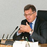 """Rusijos premjeras Algirdui Butkevičiui priekaištavo dėl """"Piervyj Baltijskij kanal"""" ir dujų sektoriaus pertvarkos"""