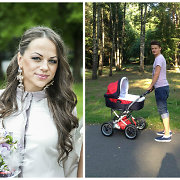 Inetą ir Ąžuolą Žvagulius su dukrele Barbora geras oras išviliojo į parką