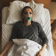 """Paviešinta Monikos Pundziūtės nuotrauka iš ligoninės: """"Monstras kaupiasi """"X Faktoriaus"""" finalui"""""""