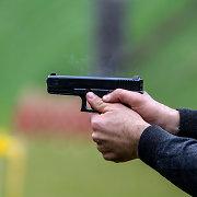 Vilkaviškyje parduotuvės užpuolikas pašaudė ir pabėgo be grobio