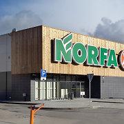 """""""Norfa"""" Vilniaus rajono Egliškių kaime atidarė didelę naują parduotuvę"""
