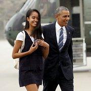 Vyriausia Baracko Obamos duktė Malia studijuos Harvarde