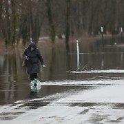 Pamario potvynis per savaitgalį atslūgo 16 centimetrų