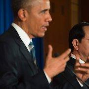Barackas Obama paragino Vietnamą laikytis žmogaus teisių
