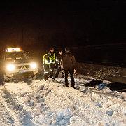 Keleivinis traukinys prie Lentvario užmušė du žmones