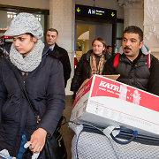 Pirmieji į Lietuvą perskirstyti pabėgėliai keliasi į Vilnių