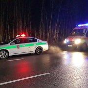 Biržų rajone avarijoje žuvo pėsčioji