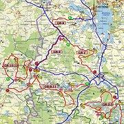"""Ralio """"Kauno ruduo 2013"""" žemėlapiai"""