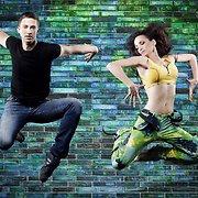 Jurgita Anusauskienė  ir Andrius Greblikas šokio akimirkas įamžino fotosesijoje
