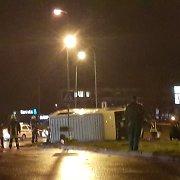 Šiurpi avarija Klaipėdoje: susidūrė trys automobiliai, du žmonės išvežti į ligoninę
