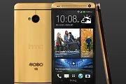 """""""HTC"""" atsakas aukso spalvos telefonams – """"HTC One"""" su tikro aukso korpusu"""