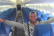 """""""VIP"""" skrydis: į Borakajaus salą keliavęs poilsiautojas buvo vienintelis keleivis visame lėktuve"""