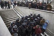 Rusijoje sulaikyta daugiau kaip 30 protestuotojų, minėjusių Konstitucijos dieną