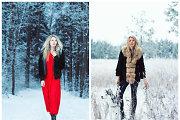 """Modelis Solveiga Mykolaitytė – naujoje fotosesijoje: """"Žiemą mane labai žavi lietuviška gamta"""""""
