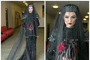 """Simona Burbaitė pasipuošė juoda nuotakos suknele: """"Jausmai buvo dviprasmiški"""""""