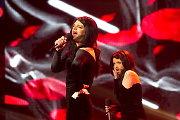 """Ruslanas Kirilkinas ir Andžela Adamovič parodijavo austrų atstovo """"Eurovizijoje"""" Conchitos Wurst vaizdo klipą"""