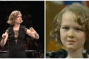 """Dirigentę Mirgą Gražinytę-Tylą nuo vaikystės lydėjo muzika: žiūrėkite įrašą iš 1996-ųjų """"Dainų dainelės"""""""