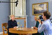 Prezidentę Dalią Grybauskaitę vaikystėje gardžiais patiekalais lepindavo tėtis