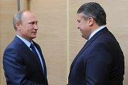 Vokietijos vicekanclerio vizitas Maskvoje: ar vokiečiai pasiduoda Kremliui?