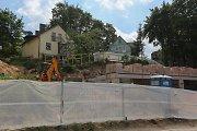Dėl statybų nukasti šlaitai Vilniaus Antakalnyje sukiršino vietos bendriją ir valstybines įstaigas