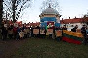 Tibeto rėmimo grupė pasveikino Dalai Lamą tibetiečių Naujųjų metų proga