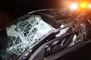 """Prienų rajone po policijos pareigūnų šūvių bėglio """"Mazda"""" rėžėsi į medį"""