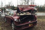 "Vilniuje po ""Peugeot"" ir mikroautobuso avarijos žuvo prispausta keleivė"