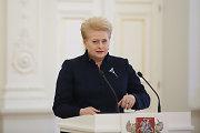 Dalia Grybauskaitė: teismo procesas dėl Sausio 13-osios – pavėluotas