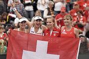 """Čekija, Šveicarija ir Prancūzija iškovojo kelialapį į """"Fed Cup"""" pusfinalį"""