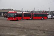 Kauno gatvėmis važinėja jau antras ilgasis keleivinis autobusas