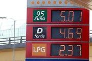 Benzino kainai perkopus 5 Lt, vairuotojams teks labiau saugoti savo degalų bakus nuo vagių