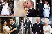 Išrinkite: Įspūdingiausios 2012-ųjų vestuvės