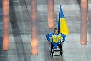 Sočio parolimpinių žaidynių atidarymo ceremonijoje Ukrainai atstovavo vos vienas sportininkas