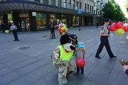 Vaikų gynimo dienos proga – pamokos apie saugų eismą