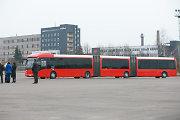 """Ilgiausias autobusas Baltijos šalyse išvažiuos į Kačerginės """"Nemuno žiedo"""" trasą"""