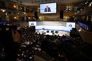 Miunchene vyksta saugumo konferencija, kurioje daugiausiai dėmesio – Sirijai ir Ukrainai