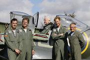 Per savo 31 gimtadienį Princas Harry pagerbė Antrajame pasauliniame kare dalyvavusius pilotus