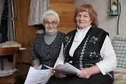 Šventinės nuotaikos Lauksargių senelių namuose: giesmės apie Kalėdas ir dainos apie mirtį