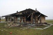 Naktį Kėdainių rajone tyčia padegtas gyvenamasis namas